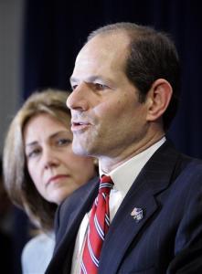 Spitzer, wife